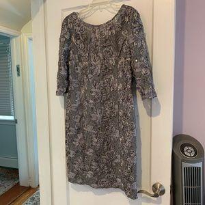 Alex Evenings Gown sz 16 Worn Once
